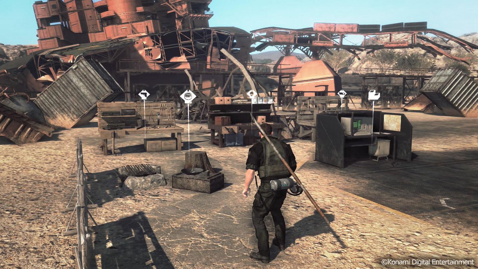 Image result for Metal gear survive base building