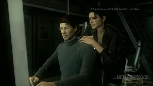 Image result for Naomi hunter and otacon