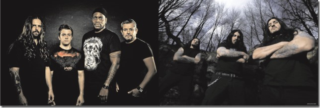Sepultura e Krisiun convocam os fãs para shows no Rock in Rio