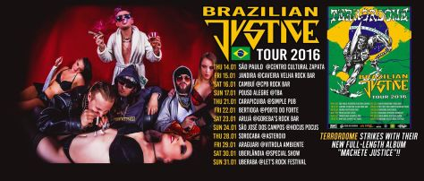 Brazilian Justice tour cover photo