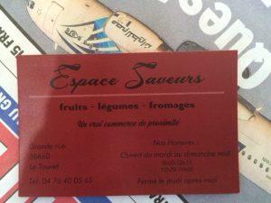 Espace Saveurs