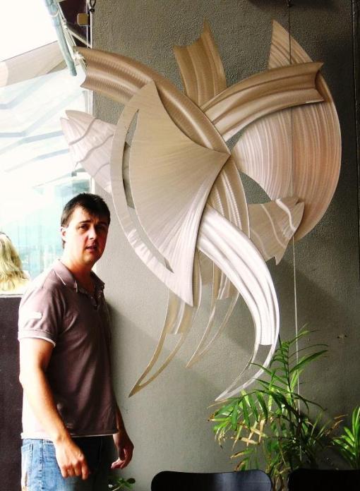 metal sculpture design Australia