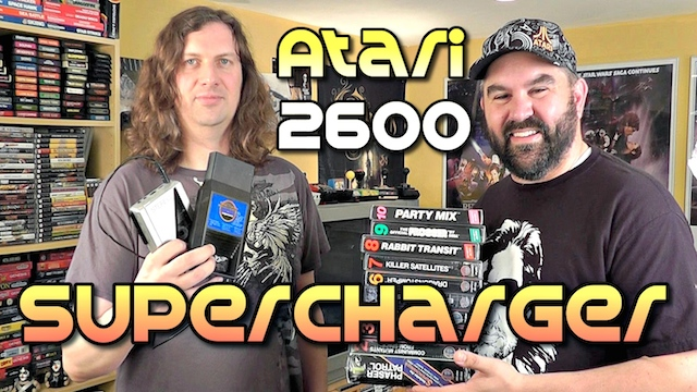 Atari 2600 SuperCharger Add-on – MOAR POWER!