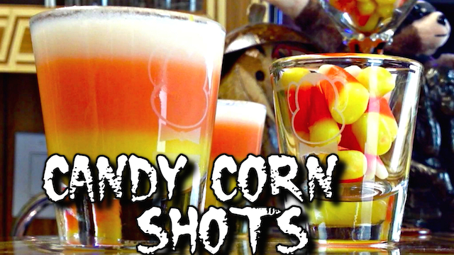 Candy Corn Shots