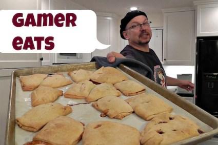 Gamer Eats Pastry Pockets