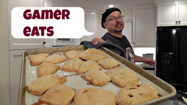 GAMER eats – Pastry Pockets