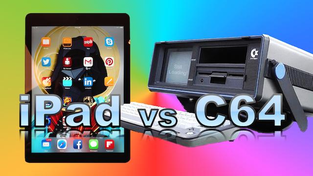 iPad vs C64
