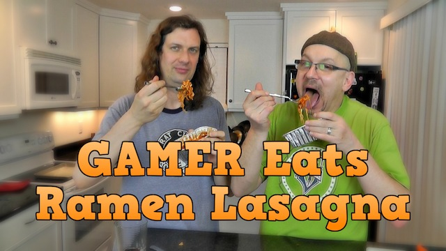 Ramen Lasagna – Gamer Eats
