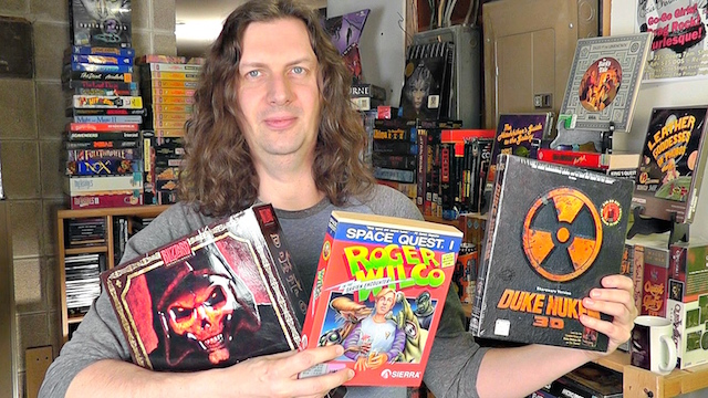 Game Room Tour – PC Games over 400 Titles!