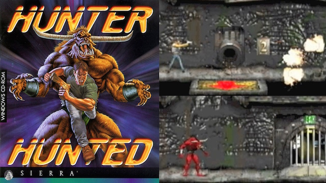 Hunter Hunted – 2D Platformer Retro Review