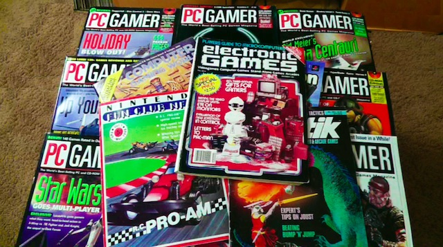Retro Gaming Magazines