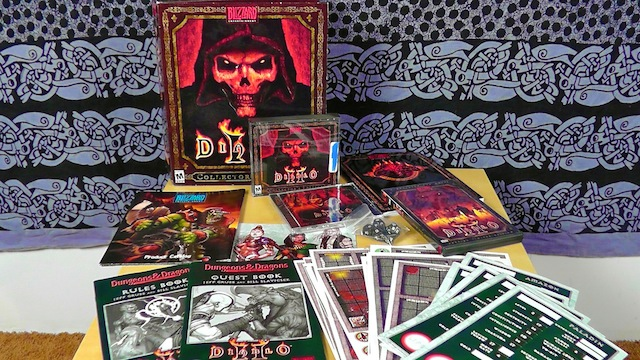 Unboxing Diablo II – PC Collector's Edition