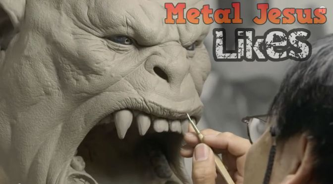 Making Grommash Hellscream Statue – World of Warcraft
