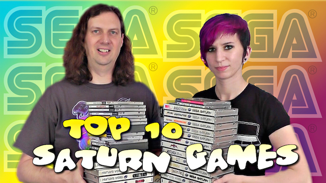 TOP 10 Saturn Games