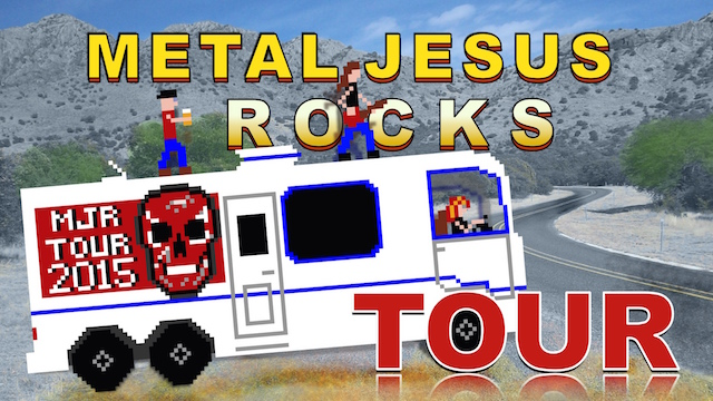 Metal Jesus TOUR Announcement