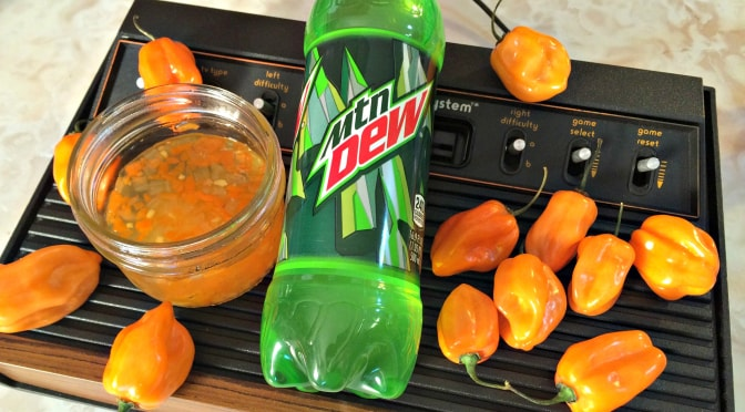 Mountain Dew Pepper Jam Gamer Eats
