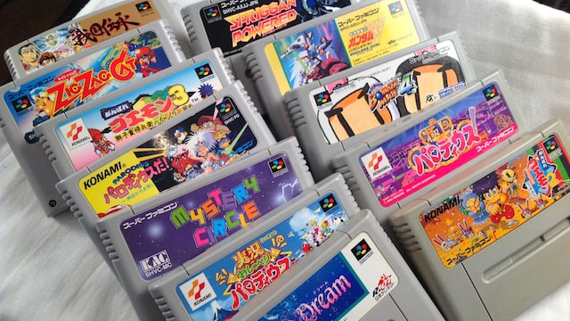 Nintendo SUPER FAMICOM GAMES IMPORTS & Hidden Gems
