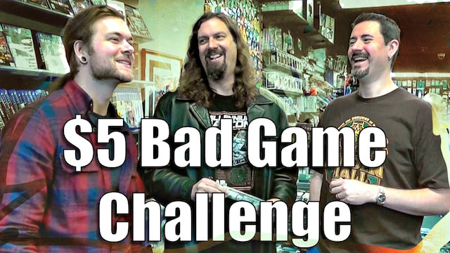 The $5 BAD GAME CHALLENGE - Game Questing