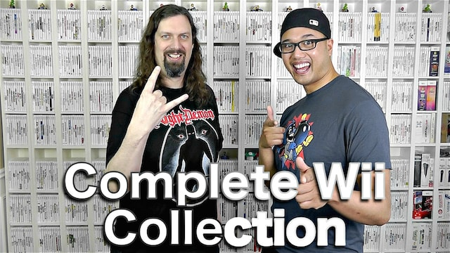 Complete Nintendo Wii Collection – Are You CRAZY?!