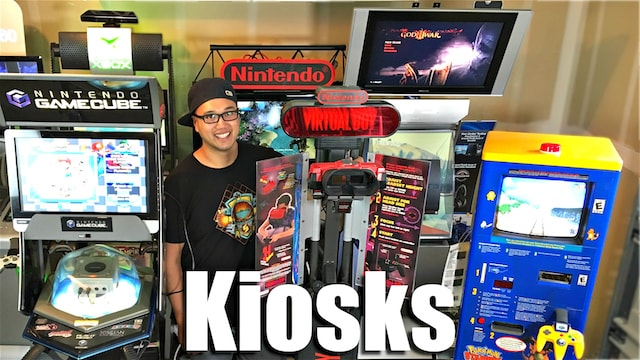 VIDEO GAME KIOSKS – Extreme Collecting!