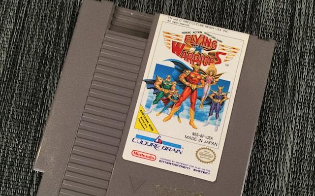 Flying Warriors NES