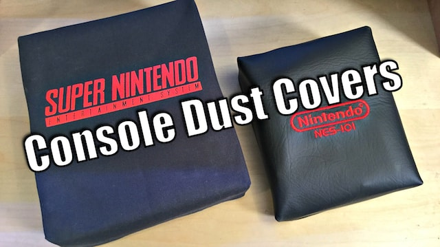 DUST COVERS for Game Consoles - Protect your Investment!