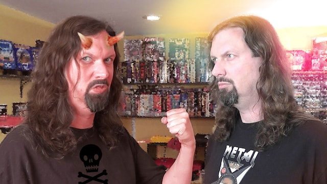 Metal Jesus battles The DEVIL – What game should I choose? (and other questions)