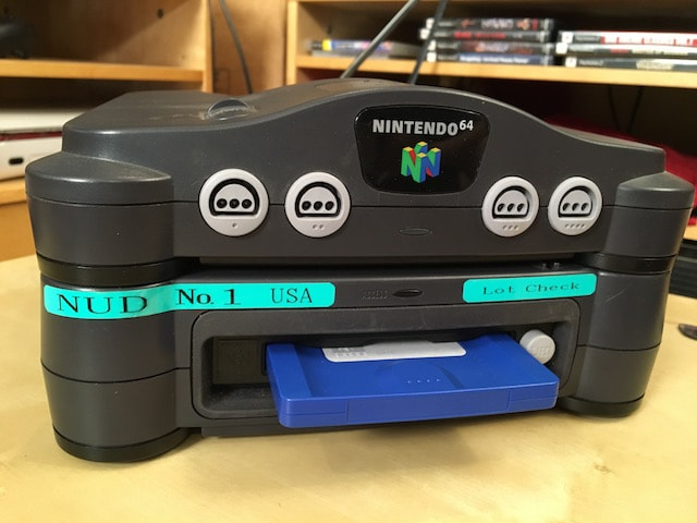 Front of the Nintendo Prototype 64DD
