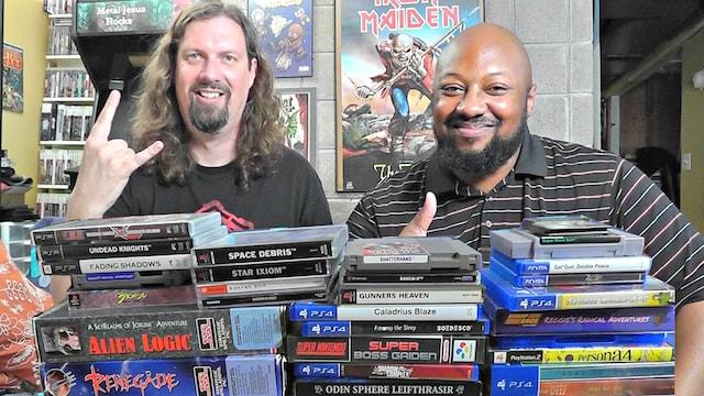 Recent Game Pickups w/ Metal Jesus & Reggie - Over 40 MINUTES!