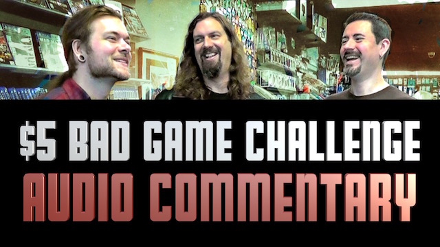 Wood is a CHEAP bastard! - $5 Dollar Bad Game Challenge - Audio Commentary
