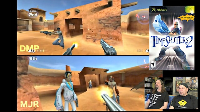 Let's Play TimeSplitters 2 (XBOX) Deathmatch
