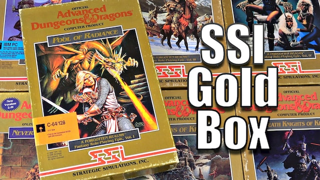 SSI Gold Box RPGs – 14 Games from the Golden Age