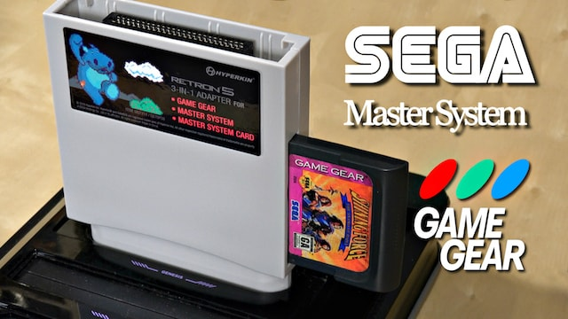 Play Sega GAME GEAR & MASTER SYSTEMS Games in HD! RetroN 5 Adaptor Review