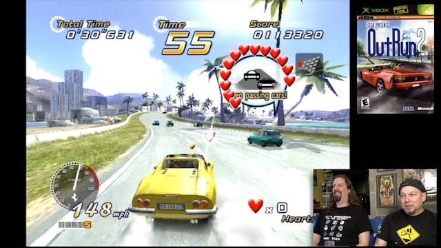 Let's Play OUTRUN 2 (Original XBOX) – Heart Attack Mode