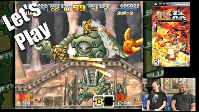 Let's Play METAL SLUG XX (PSP) – Co-op w/ REGGIE!