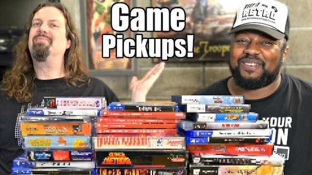 Game Pickups from Metal Jesus & Reggie – 35 amazing titles!