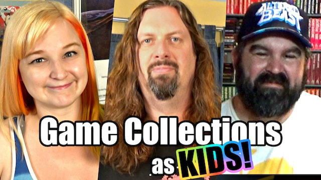 Game Collections as KIDS? – No Money & Great Memories!