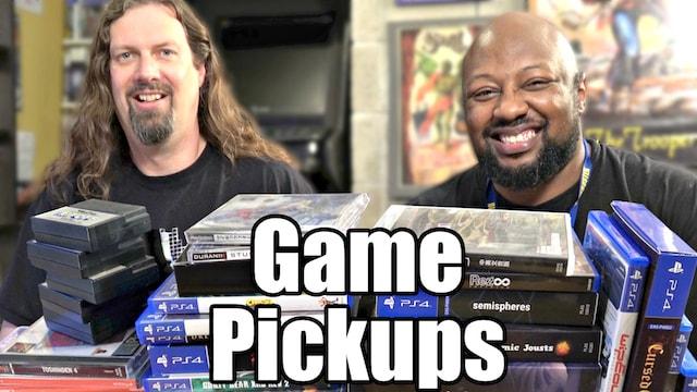 *New* Game Pickups – 40+ Games from Metal Jesus & Reggie!