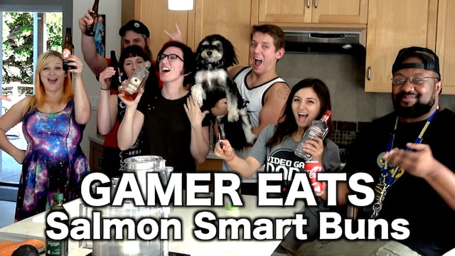 Gamer Eats – Salmon Smart Buns: Brain food for Gamers!