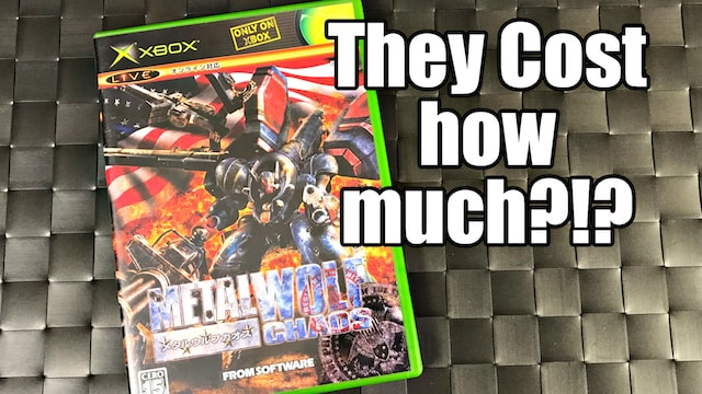 Stupidly EXPENSIVE & Rare Original XBOX Games – They Cost HOW MUCH