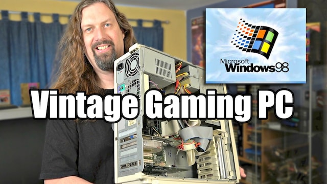 Building a NEW (OLD) Windows 98 Gaming PC! – Hardware, Accessories & Games