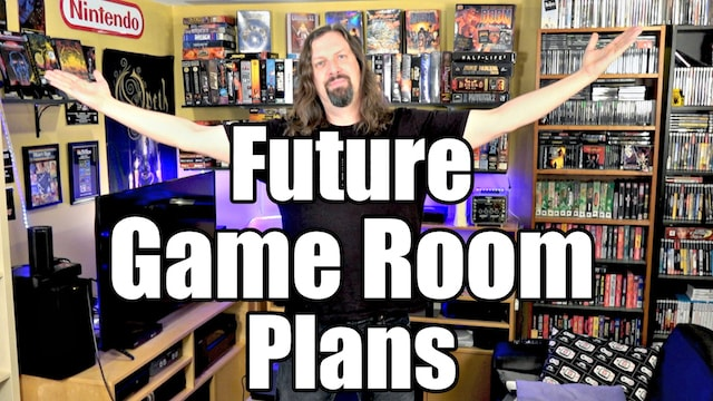 My FUTURE GAME ROOM PLANS for 2018!