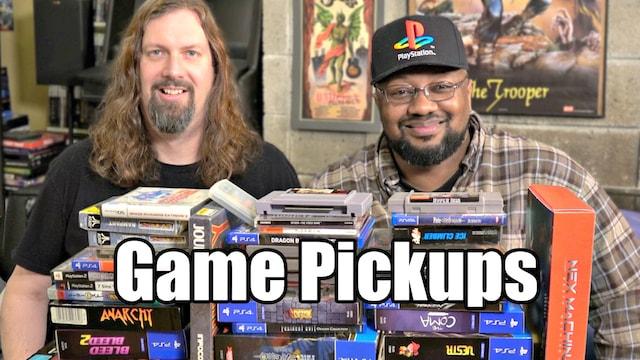 Recent GAME Pickups – 49 Games from Metal Jesus & Reggie