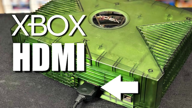 Original XBOX HDMI Cable Review – 100% Plug & Play – No mod needed!