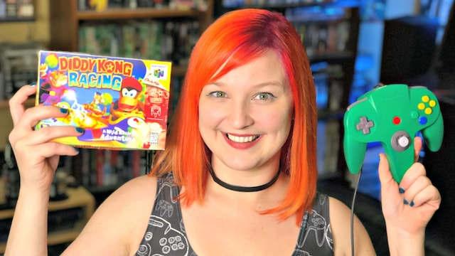 Let's Play DIDDY KONG RACING (N64) w/ KINSEY!!