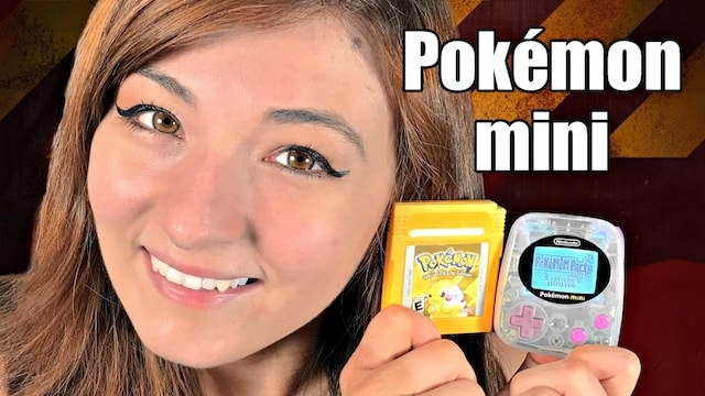 Nintendo's SMALLEST & MOST OBSCURE game console! – Pokemon Mini + 10 Games