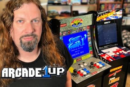 Street Fighter II & Asteroids – Arcade1Up Home Cab Reviews