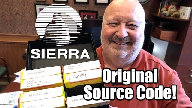 Ex-SIERRA Game Developer is selling Original Source Code! — BUY a piece of HISTORY!!