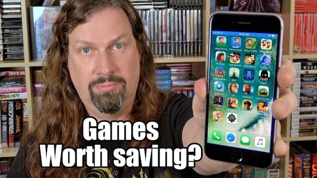 Are GOOD mobile games WORTH SAVING?! I am on my old iPhone 6
