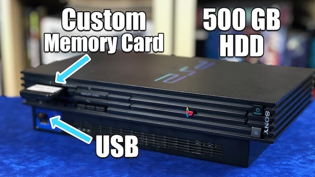 A PlayStation 2 HD?! Soft mods allow up to 1080p, run backups, emulators & much more!